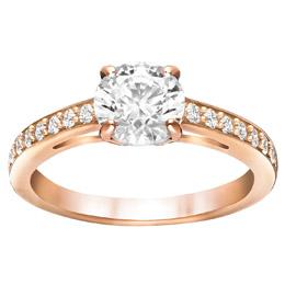 Swarovski eljegyzési gyűrű