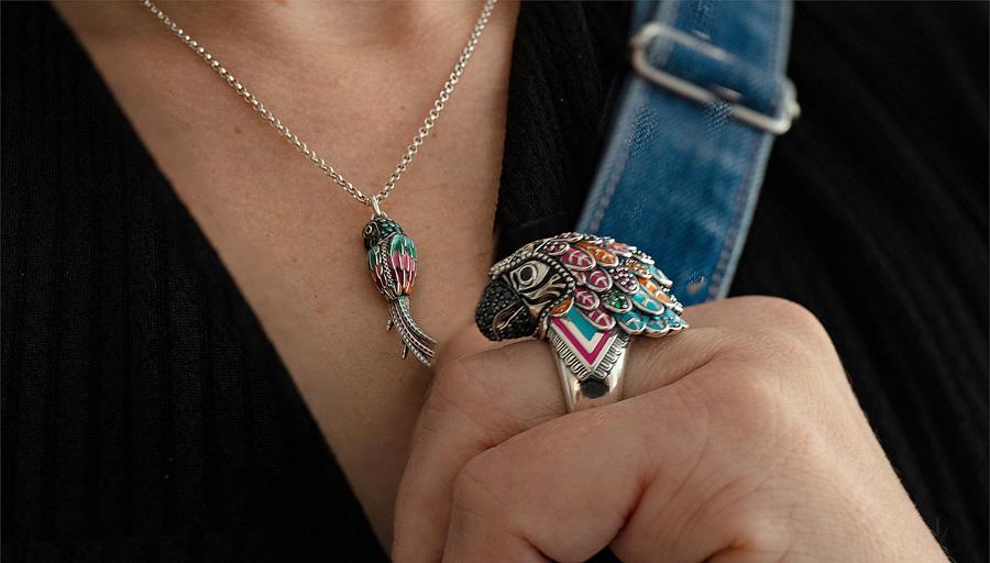 Thomas Sabo nyaklánc, gyűrű