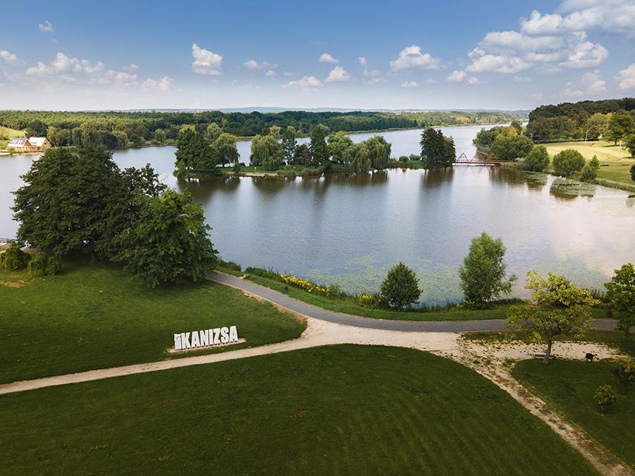 Nagykanizsa csónakázó tó