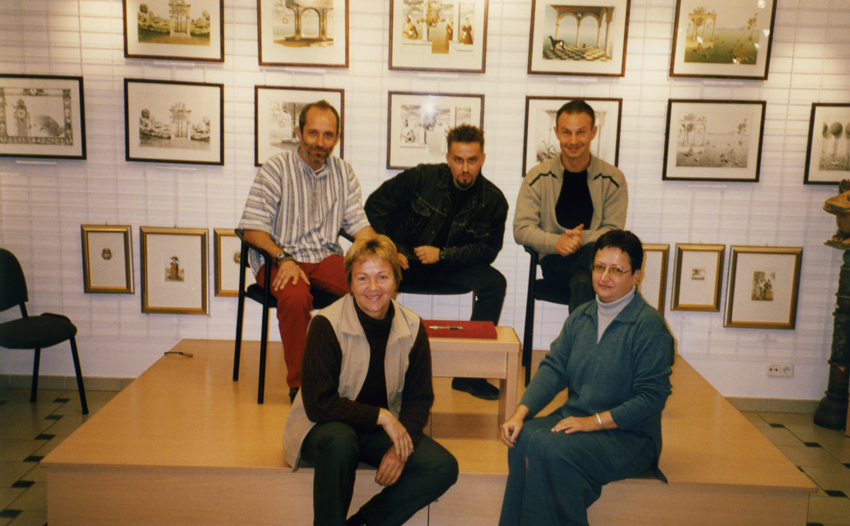 Petró Galéria - talk show