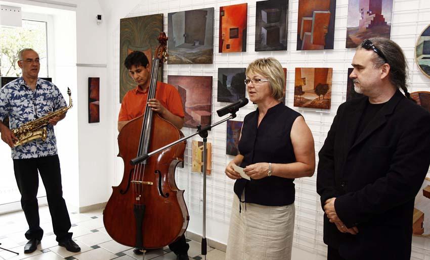 Petró Galéria - kiállítás megnyitó