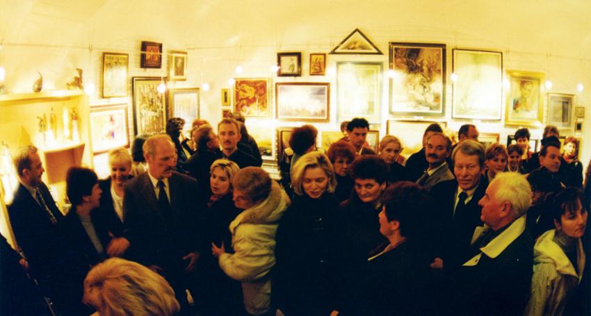 Petró Galéria megnyitó