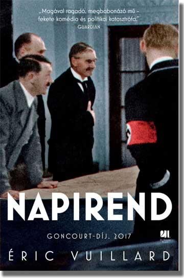 Eric Vuillard, Napirend, Goncourt-díj