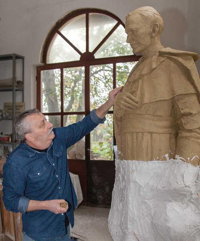 Farkas Ferenc szobrászművész