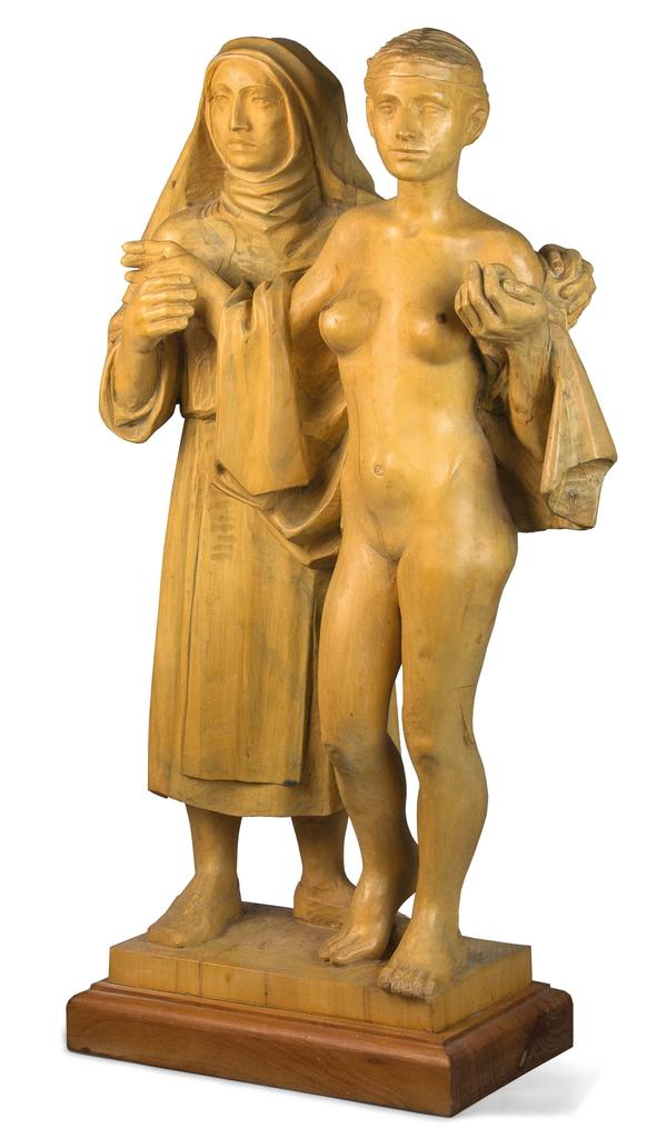 Farkas Ferenc Ünnep című szobra