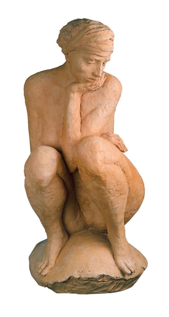 Farkas Ferenc Meditáló című szobra
