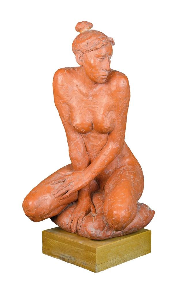 Farkas Ferenc Térdeplő című szobra