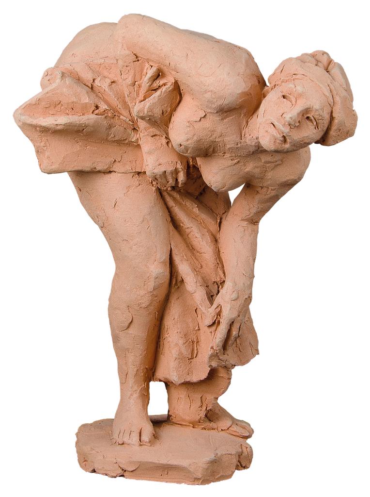 Farkas Ferenc Fürdőző nő című szobra