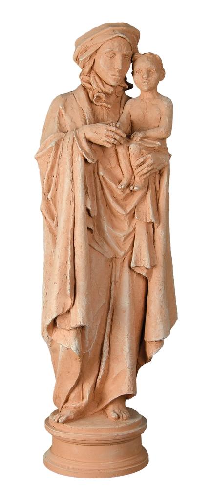 Farkas Ferenc Madonna című szobra