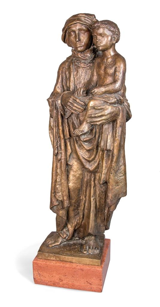 Farkas Ferenc Madonna-I című szobra