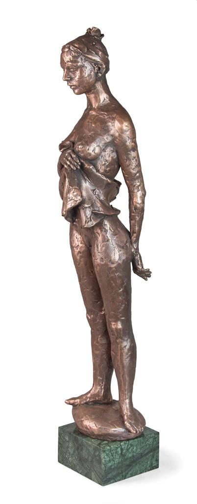 Farkas Ferenc Készülődés című szobra