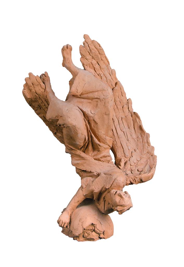 Farkas Ferenc Bukott angyal-1 című szobra