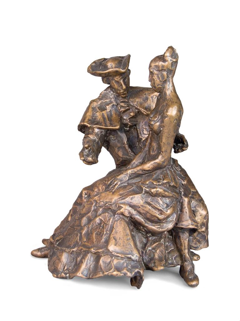 Farkas Ferenc Rokokó idill I. című szobra