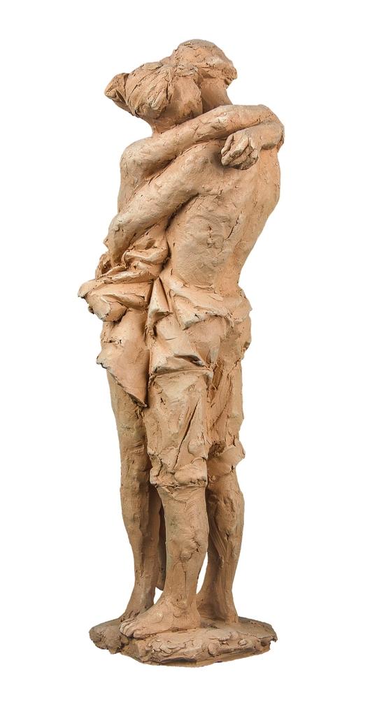 Farkas Ferenc Szerelmesek című szobra