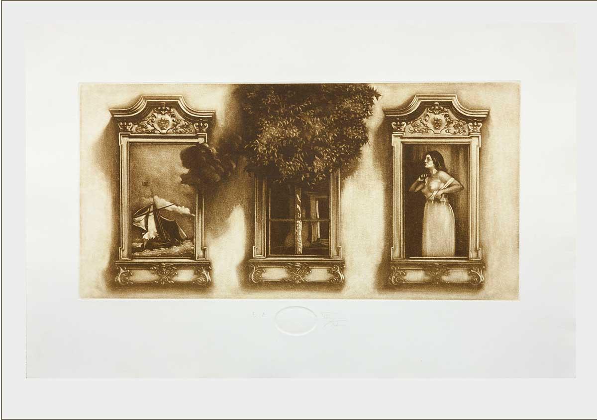 Három ablak (2011) - grafika - Frimmel Gyula