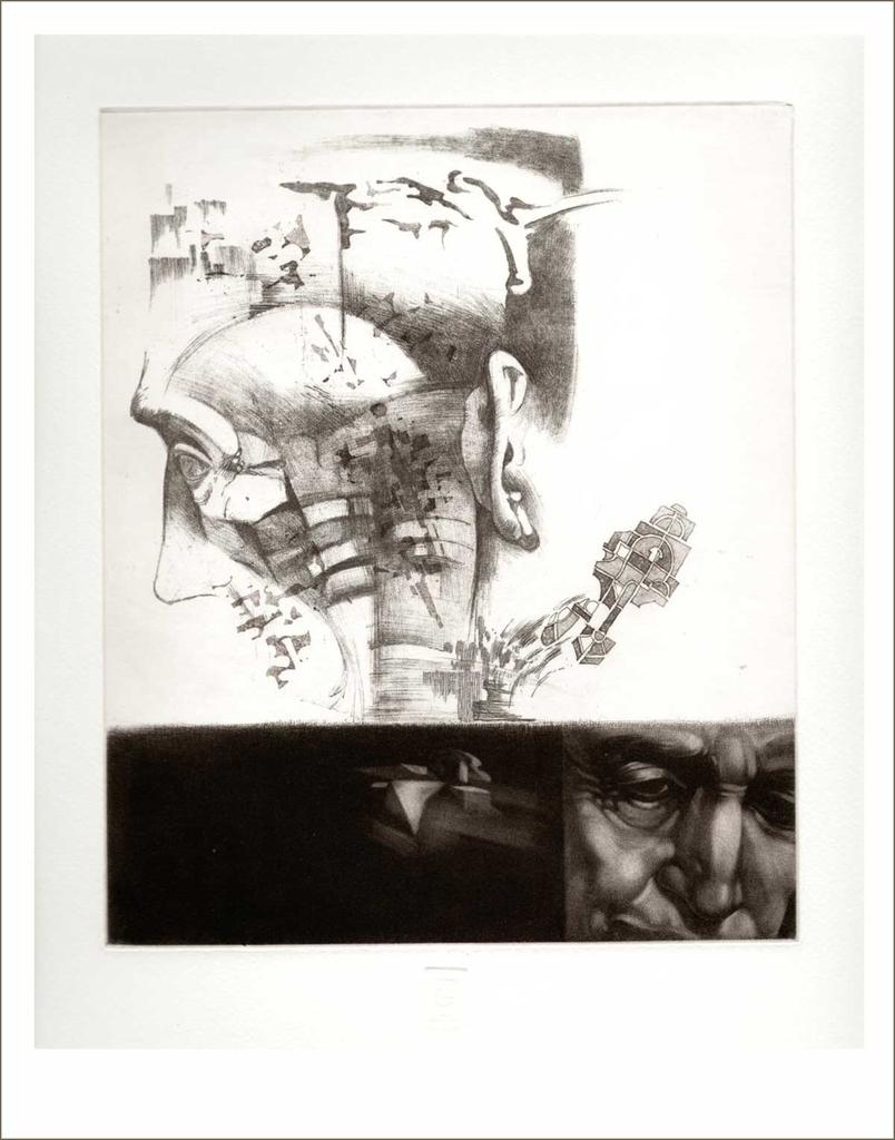 Idő (2003) - grafika - Frimmel Gyula