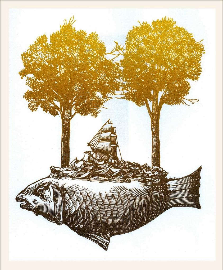Mély víz (2015) - grafika - Frimmel Gyula