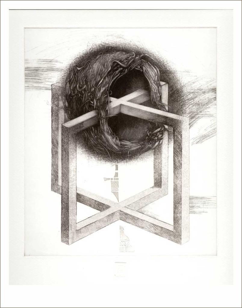 Otthon (2002) - grafika - Frimmel Gyula