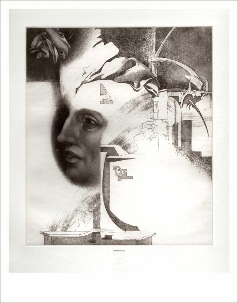Profil (2003) - grafika - Frimmel Gyula