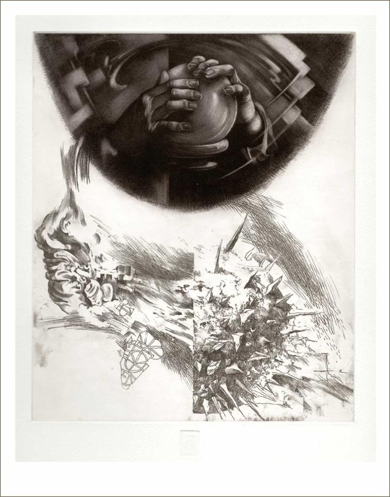 Tapintás (2002) - grafika - Frimmel Gyula