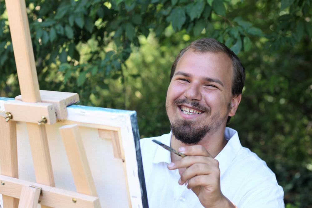L'ART 21 - Bíró Krisztián alkotó