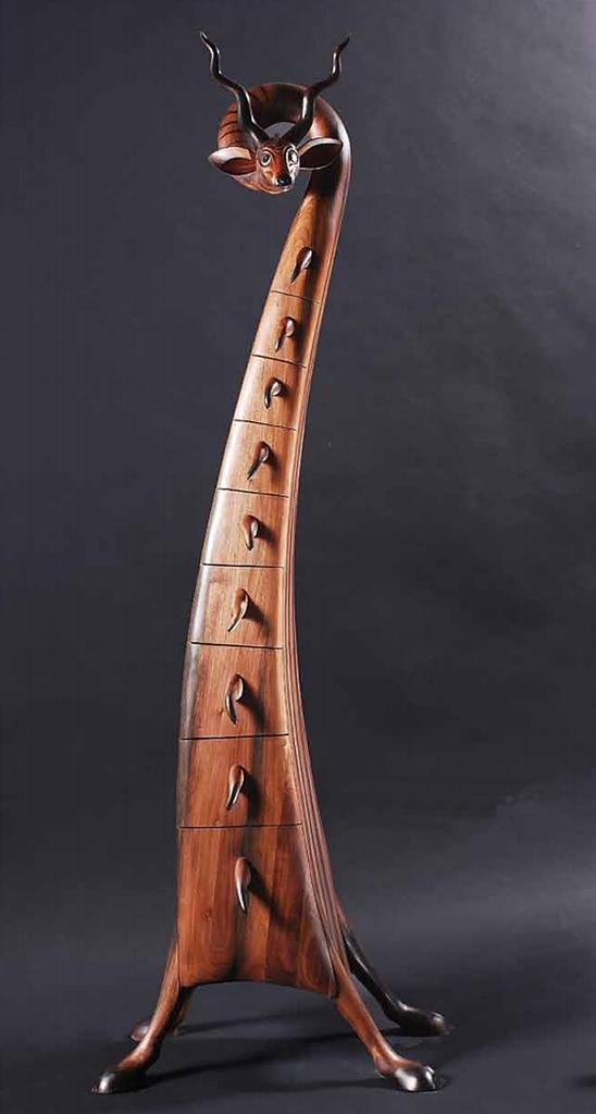 Kiskudu- szoborbútor - Sprok Antal