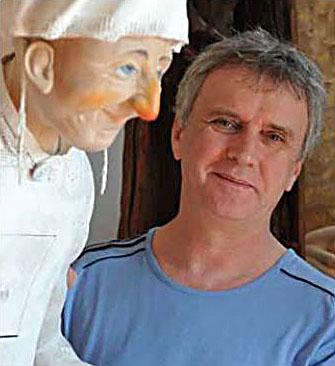 Sprok Antal - bútorszobrász, iparművész