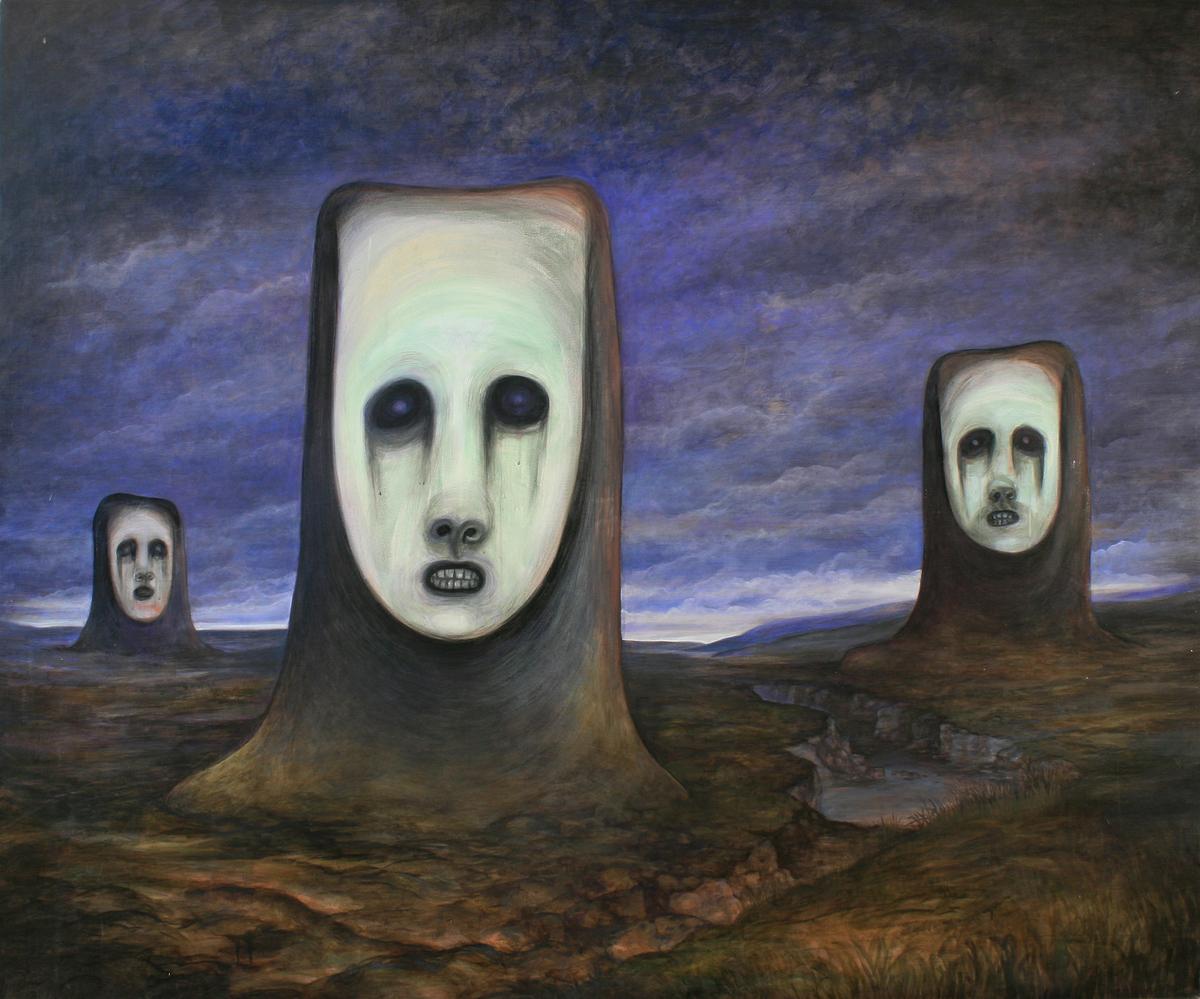Szurcsik József - Tortura Humana II. - festmény
